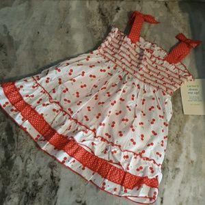 NWT Carter's girls size 24 months dress w/ bloomer